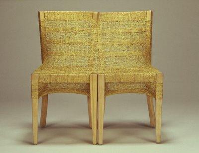 Flores en el tico sillas tejidas con cabello - Aticos en silla ...